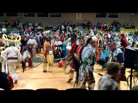 Pow Wow dancing at The John Carroll School