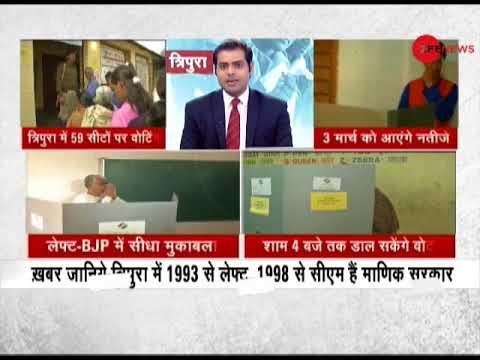 Tripura Polls 2018: 12% voting till 9 am