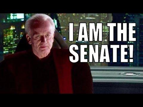Was Palpatine Truly the Senate? - Palpatine's Political Power Explained