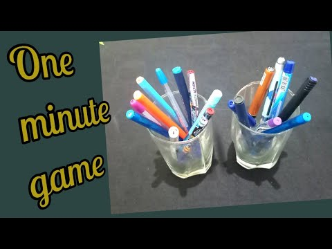 One Minute Game/Kitty Party Fun Game . Teacher's Day Theme.