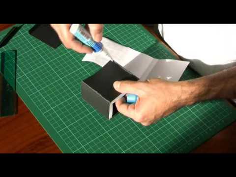 Canon HV20 HV30 HV40 LCD Hood Cover - Simple Paper Fold Up Design
