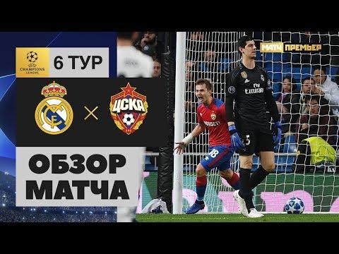 Смотреть 12.12.2018 Реал – ЦСКА - 0:3. Обзор матча онлайн
