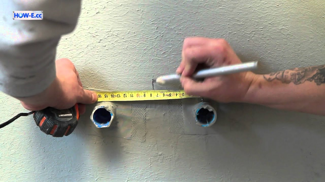Fliesenlegen In Teilen Das Vorbereiten Wand Vorbereiten YouTube - Fliesen legen auf rigips