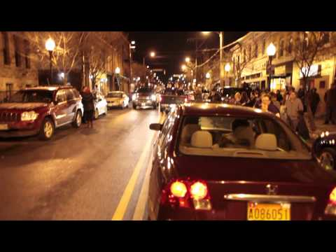 Baltimore Ravens win Super Bowl XLVII 34-31, Hampden neighborhood goes crazy!
