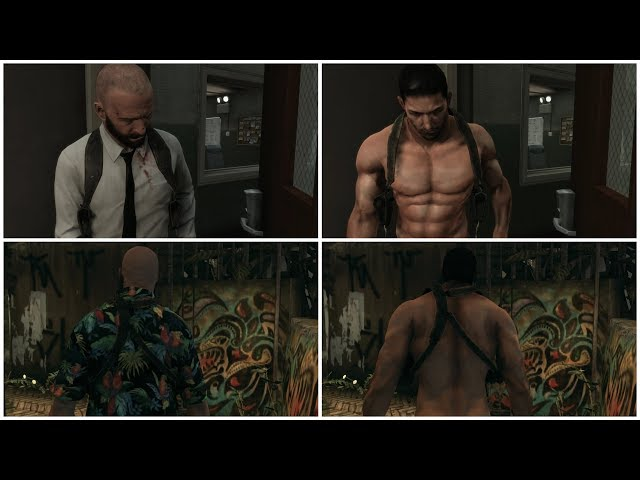 Chris Redfield nude mod for Max Payne 3