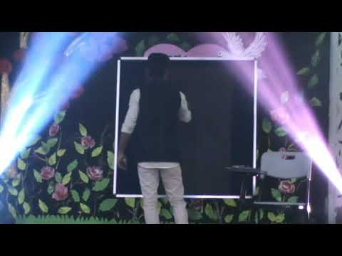 Live painting art on stage(subhash vishwakarma)