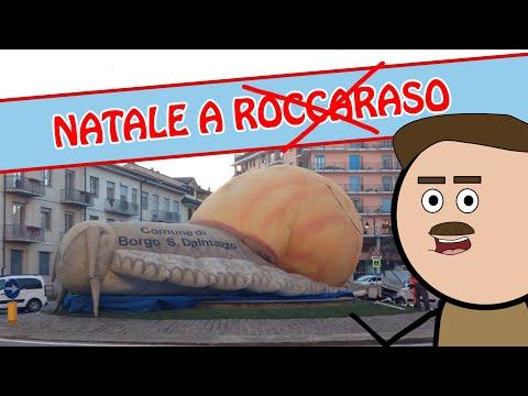 NATALE A ROCCARASO ? No, a Borgo San Dalmazzo! - CARTONI ANIMATI