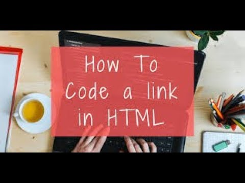 HOW TO CREATE HYPER LINK IN HTML(TUTORIAL PART 3) thumbnail