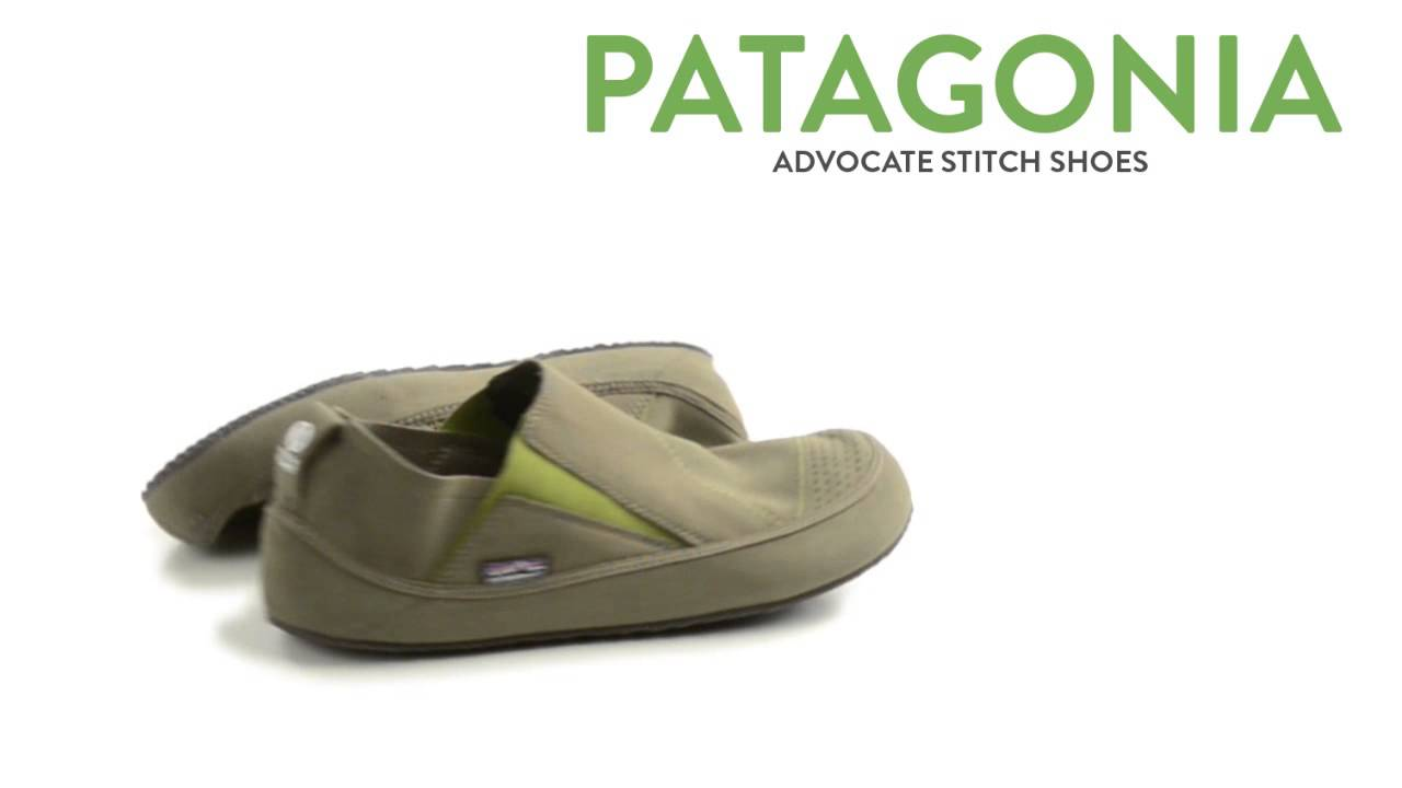patagonia advocate stitch shoes slip ons minimalist