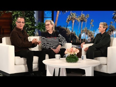 Tom Hanks and Meryl Streep on a Possible President Oprah Winfrey