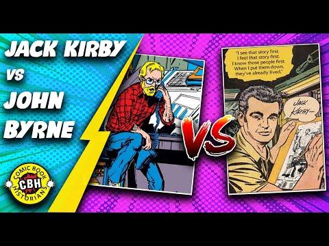 Episode 21.  Jack Kirby vs. John Byrne: ...