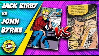 Episode 21.  Jack Kirby vs. John Byrne:  Comic Book Pulp Friction.