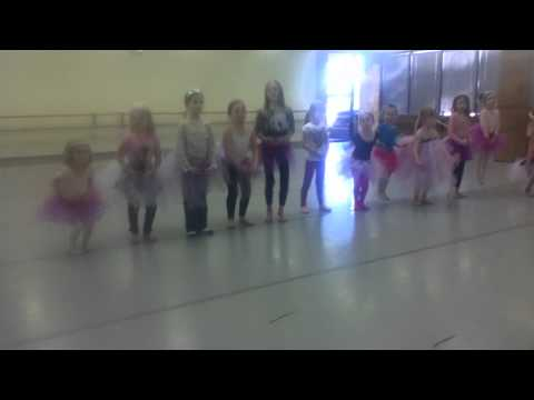 Brooklyn's Birthday Party Ballet Performance
