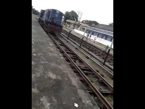 YDM4 6354 (Lumding) coupling at Karimganj Station
