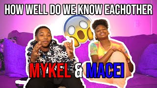 HOW WELL DO WE KNOW EACH OTHER | MACEI & MYKEL