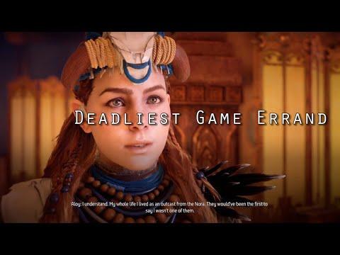 Deadliest Game Errand Guide - Horizon Zero Dawn