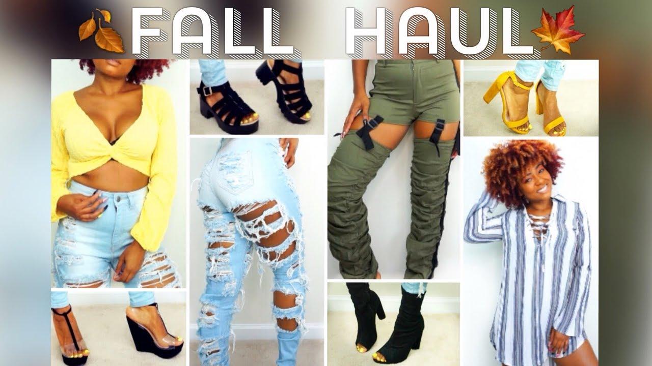 63b57f7eb851 Fall 2018 Fashion Shopping Try On Haul