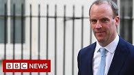 Raab said theres an quotincredibly strong team spiritquot behind the prime minister - BBC News