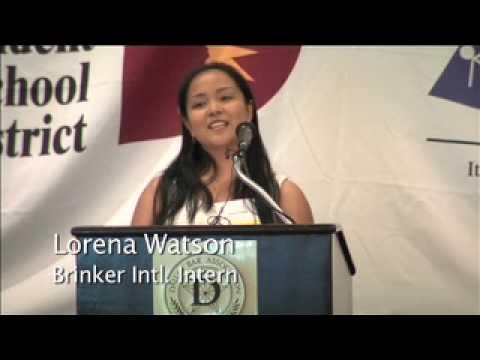 Education is Freedom & Mayor Tom Lepperts Internship Program (Dallas)