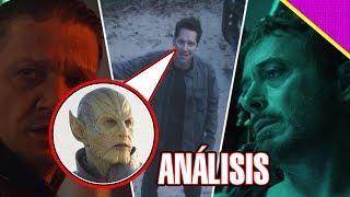 ¿ANT-MAN VIAJÓ EN EL TIEMPO? - Análisis A AVENGERS 4: ENDGAME