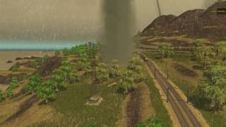 Cities skylines tornado outbreak GTA V map.