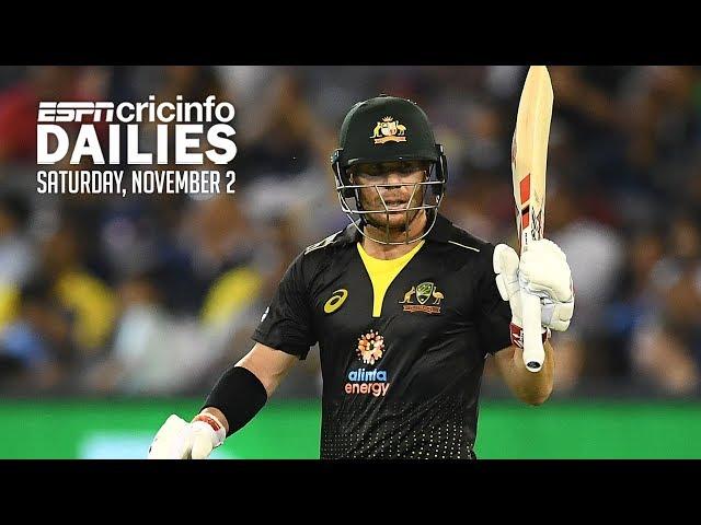 Warner leads Australia to 3-0 sweep of Sri Lanka
