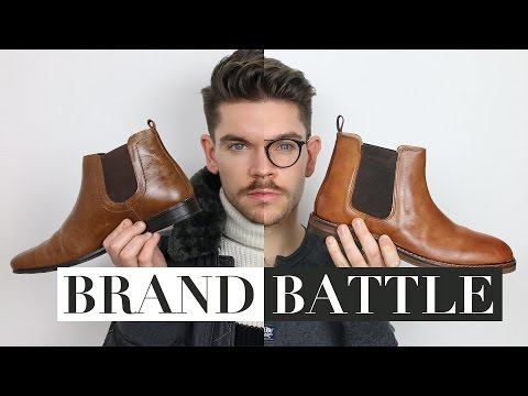 Men's Chelsea Boots | ASOS vs Topman | Brand Battle