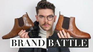 Men's Chelsea Boots | ASOS vs Topman | Brand Battle