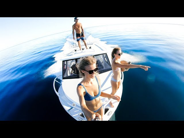 GETTING LIT IN OUR NEW BOAT Coral Trout Catch And Cook - YBS Lifestyle Ep 55