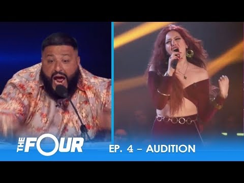 Alma Lake: FIERCE Colombian Artist Causes ERUPTION On The Judges Panel! | S2E4 | The Four