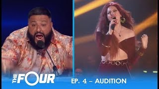 Download lagu Alma Lake FIERCE Colombian Artist Causes ERUPTION On The Judges Panel S2E4 The Four