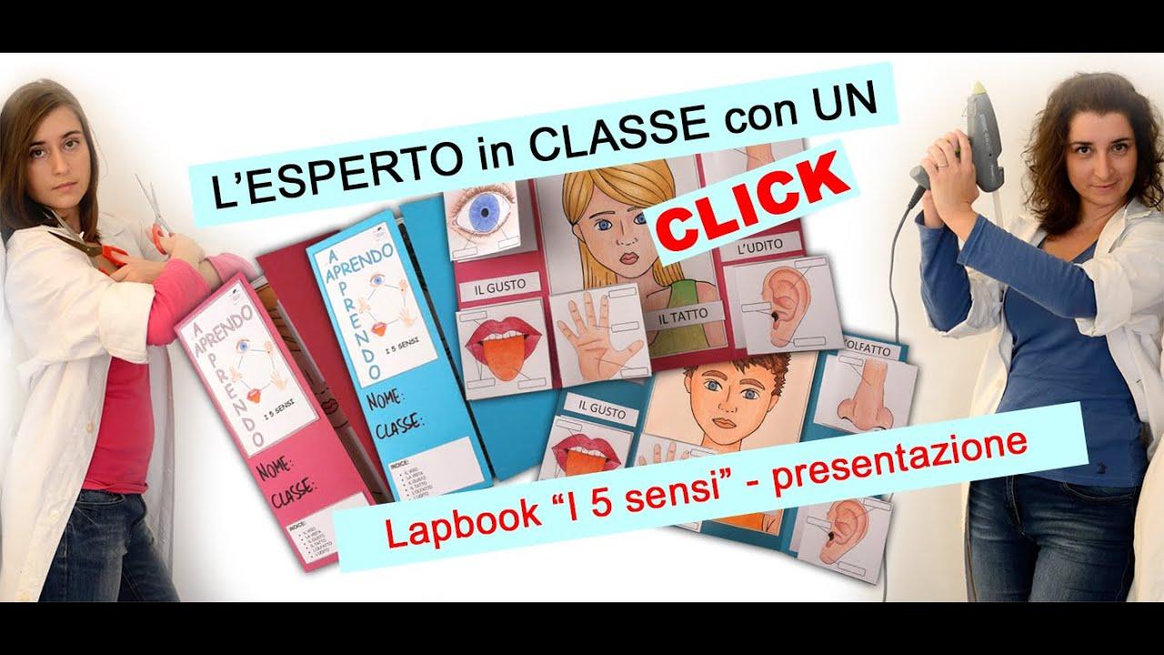 """Bien connu APRENDO - APPRENDO: Lapbook """"I 5 sensi"""" - presentazione - YouTube HH66"""