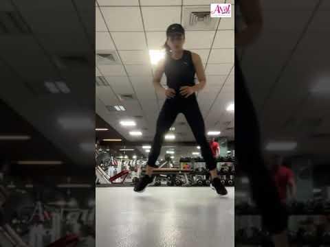 Actress Rashmika Mandanna's Veralevel Exercise Video | Fitness Freak |Cuteness Overloaded | #Shorts