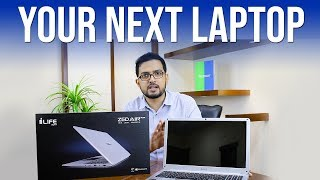 Apple Macbook Look Alike in Affordable Price | iLife ZedAir Plus | Unboxing & Review | (Urdu/Hindi)