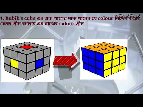 easiest way to solve a rubix cube || the simple solution to rubik's cube