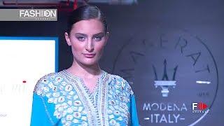 MERIEM BENAMOUR Oriental Fashion Show KUWAIT 2017   Fashion Channel