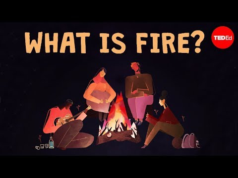 Video image: Is fire a solid, a liquid, or a gas? - Elizabeth Cox