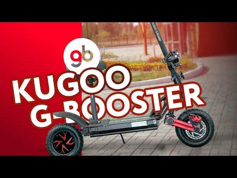KUGOO G-BOOSTER - настоящий гоночный болид в мире электросамокатов. Полноприводный, мощный и быстрый