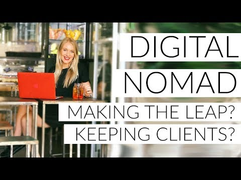 DIGITAL NOMAD Q&A: MAKING THE LEAP!