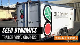 Trailer Graphics for Seed Dynamics & Fear Box S2 | Vlog 42
