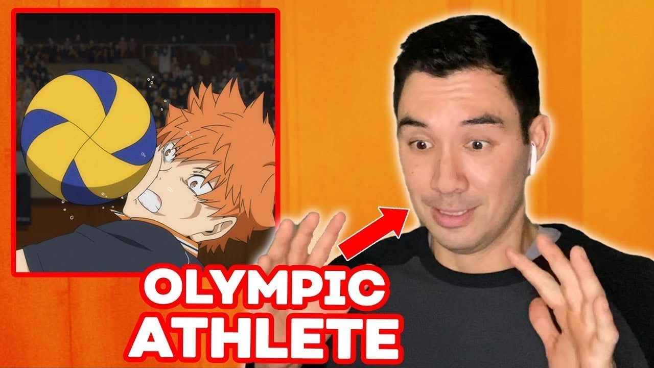 Download Olympic Volleyball Athlete Reacts to HAIKYU!! (Erik Shoji) | React