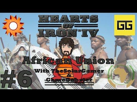 HOI4 - Millennium Dawn Zimbabwe | African Union with TheSolarGamer & GameGabster #6