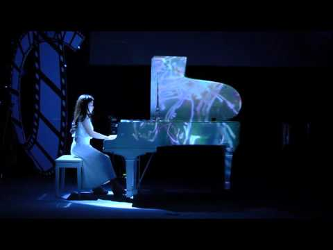 3D Mapping Grand Piano   The 10th Annual Concert of Allegro Music Education Centre 2016