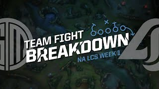 Team Fight Breakdown with Jatt: TSM vs CLG (2016 NA LCS Spring Week 1)