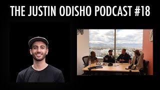 The Justin Odisho Podcast #18: Group Chat w/ Olufemii Tutorials & Interns Steven, Kirk