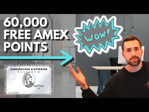 AMEX Platinum Card Welcome Bonus 2020 | Free 60,000 Points ($1,200 Value!)