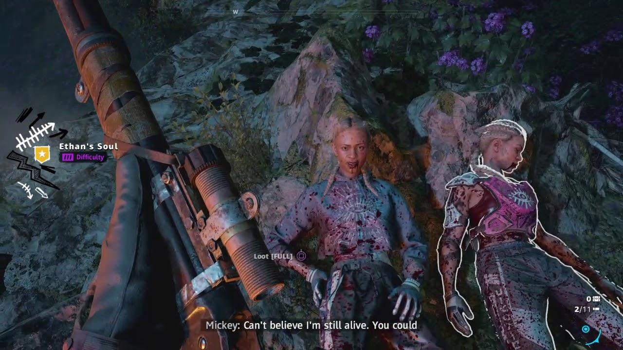 Far Cry New Dawn Death Of Mickey N Lou Youtube