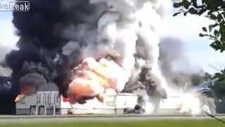 Big explosion at Quebec fireworks factory