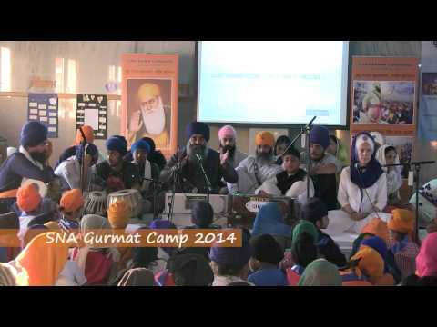 Last Day Kirtan at SNA Gurmat Camp 2014 - GNG South Birmingham