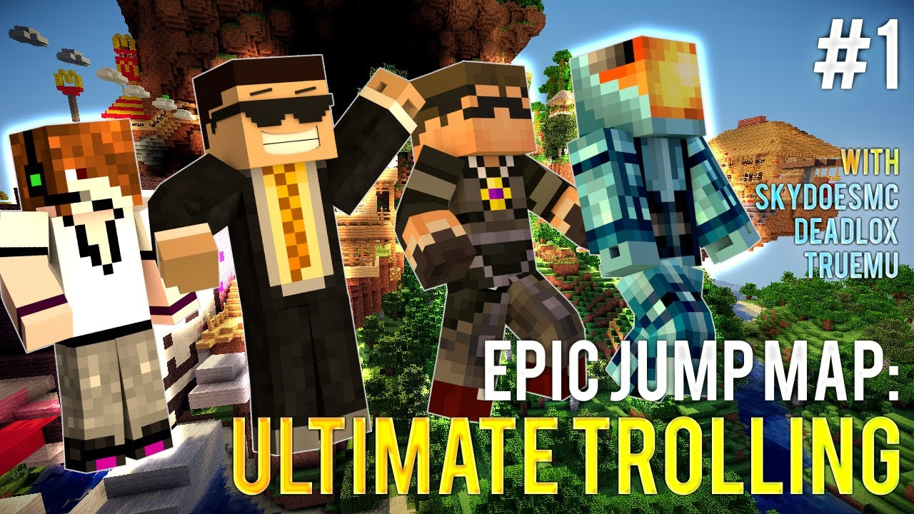 out now ejm ultimate trolling ep1 w skydoesminecraft